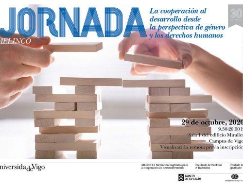 JORNADA MELINCO. La cooperación al desarrollo desde la perspectiva de género y los derechos humanos.